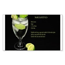 Mojito Rectangle Decal