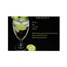 Mojito Rectangle Magnet (10 pack)