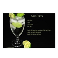 Mojito Postcards (Package of 8)