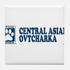 CENTRAL ASIAN OVTCHARKA Tile Coaster