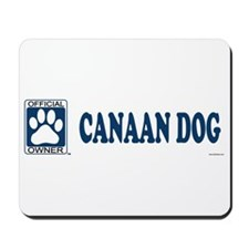 CANAAN DOG Mousepad