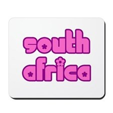 South African Girl Mousepad