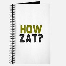 CRICKET - HOW ZAT - OUT!! Journal
