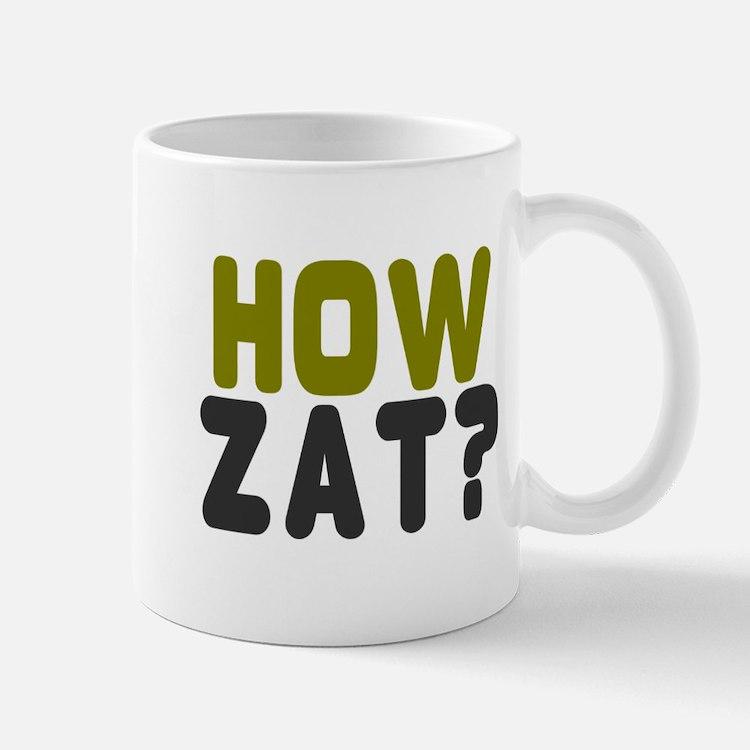 CRICKET - HOW ZAT - OUT!! Mugs
