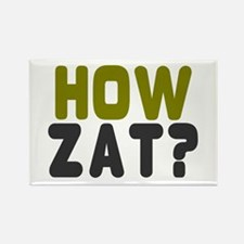 CRICKET - HOW ZAT - OUT!! Magnets