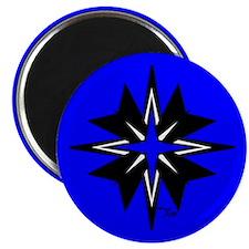 Tribal Blue Magnet