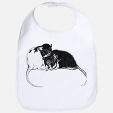 Truckle and Hamish Baby Bib