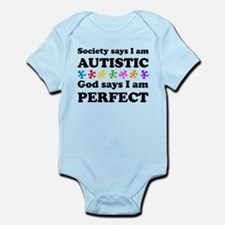 Autistic=Perfect Body Suit