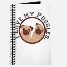 i love my puggles Journal