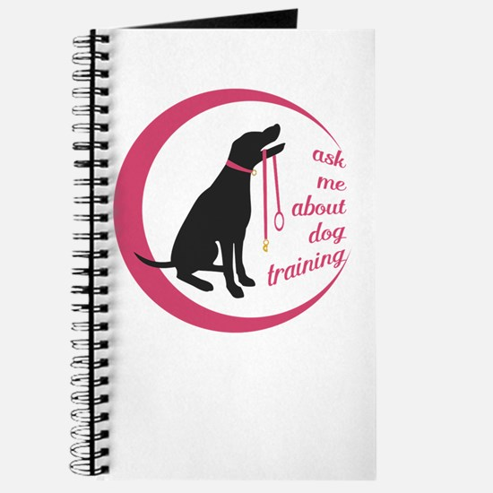 ask me about dog training Journal