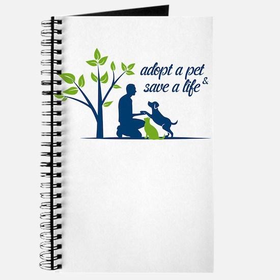 adopt a pet - save a life Journal
