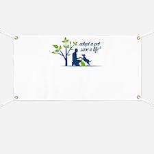 adopt a pet - save a life Banner