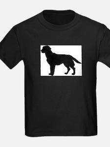 Labrador Retriever Silhouette T-Shirt