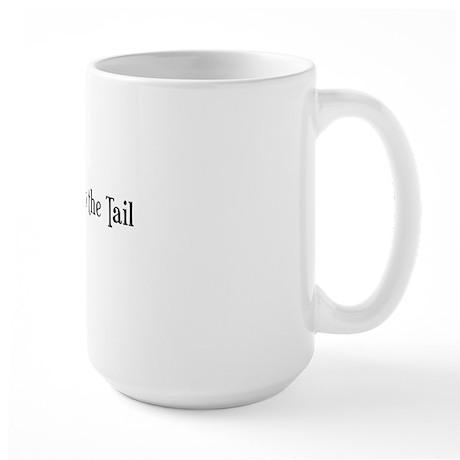 Westie Talk to the Tail Large Mug