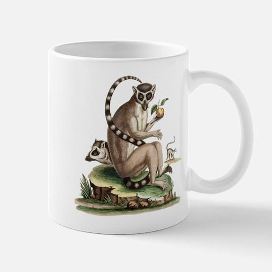 Lemur Artwork Mugs