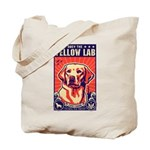 Obey the Yellow LAB! USA Tote Bag