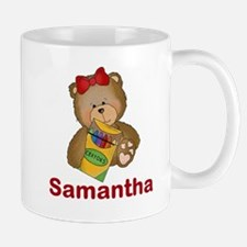 Samantha's Crayon Bear Mug