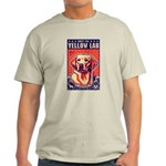 Obey the Yellow Lab! USA light T-Shirt