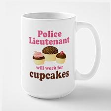 Funny Police Lieutenant Mugs