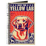 Labrador retriever notebooks Journals & Spiral Notebooks