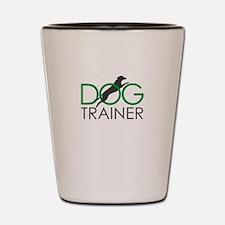 dog trainer Shot Glass