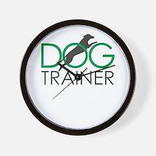 dog trainer Wall Clock