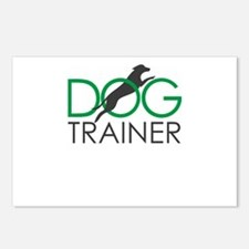 dog trainer Postcards (Package of 8)