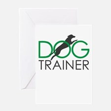 dog trainer Greeting Cards