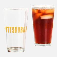 Pittsburgh yinz Drinking Glass