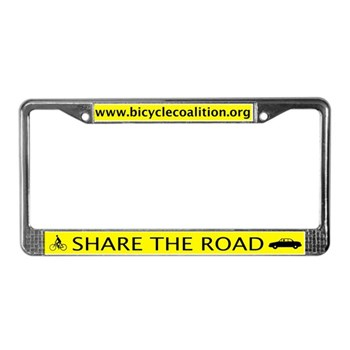 BCGP License Plate Frame