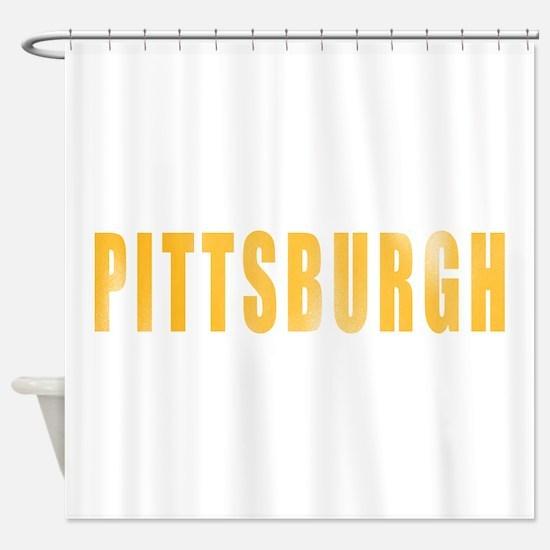 Cute Yinz Shower Curtain