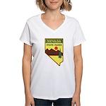 Nevada Ranger Women's V-Neck T-Shirt
