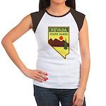 Nevada Ranger Women's Cap Sleeve T-Shirt