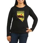 Nevada Ranger Women's Long Sleeve Dark T-Shirt