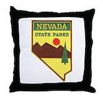 Nevada Ranger Throw Pillow