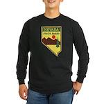 Nevada Ranger Long Sleeve Dark T-Shirt