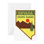 Nevada Ranger Greeting Cards (Pk of 20)