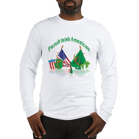 Irish American Long Sleeve T-Shirt