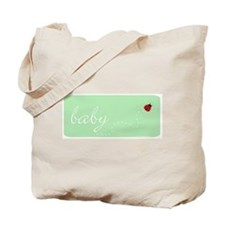 Baby Bug (green) Tote Bag
