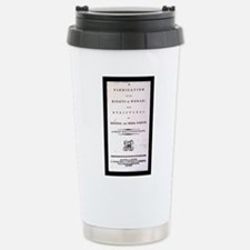 Cute Mary shelley Travel Mug
