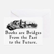 Books are Bridges Greeting Cards (Pk of 10)