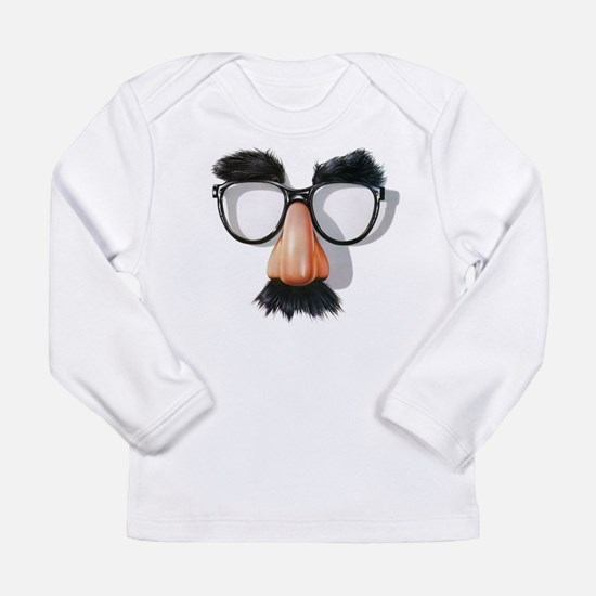 w/ Groucho Glasses Long Sleeve T-Shirt