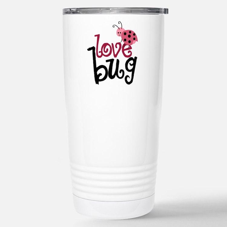 Cute Love bug Travel Mug