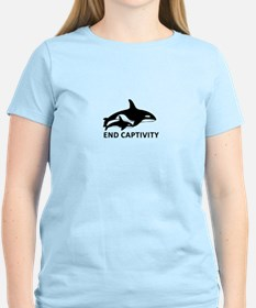 Save the Orcas - captivity kills T-Shirt