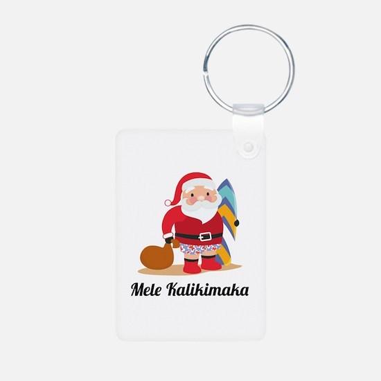 Mele Kalikimaka Keychains