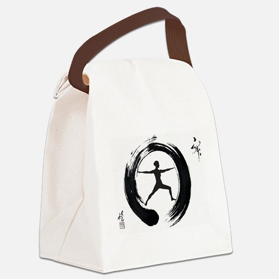 Tai Chi, Woman Canvas Lunch Bag