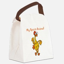 Funny Rubber Canvas Lunch Bag