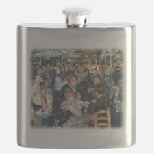 Dance at Le Moulin de la Galette by Renoir Flask