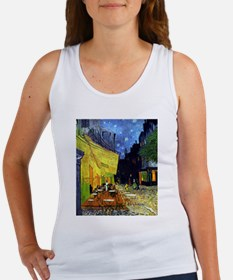 Cafe Terrace at Night by Van Gogh Tank Top