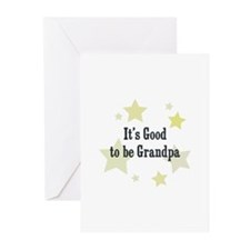 It's Good to be Grandpa Greeting Cards (Pk of 10)
